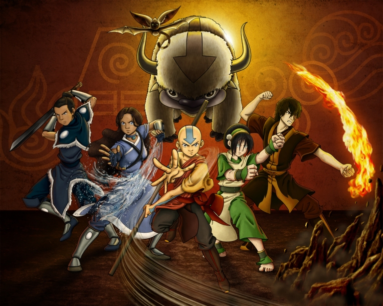 Gaang_by_Allagea-avatar-the-last-airbender-20547840-1280-1024