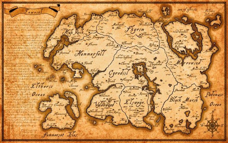high_resolution_tamriel_map__elder_scrolls_series__by_belhene-d581jpg