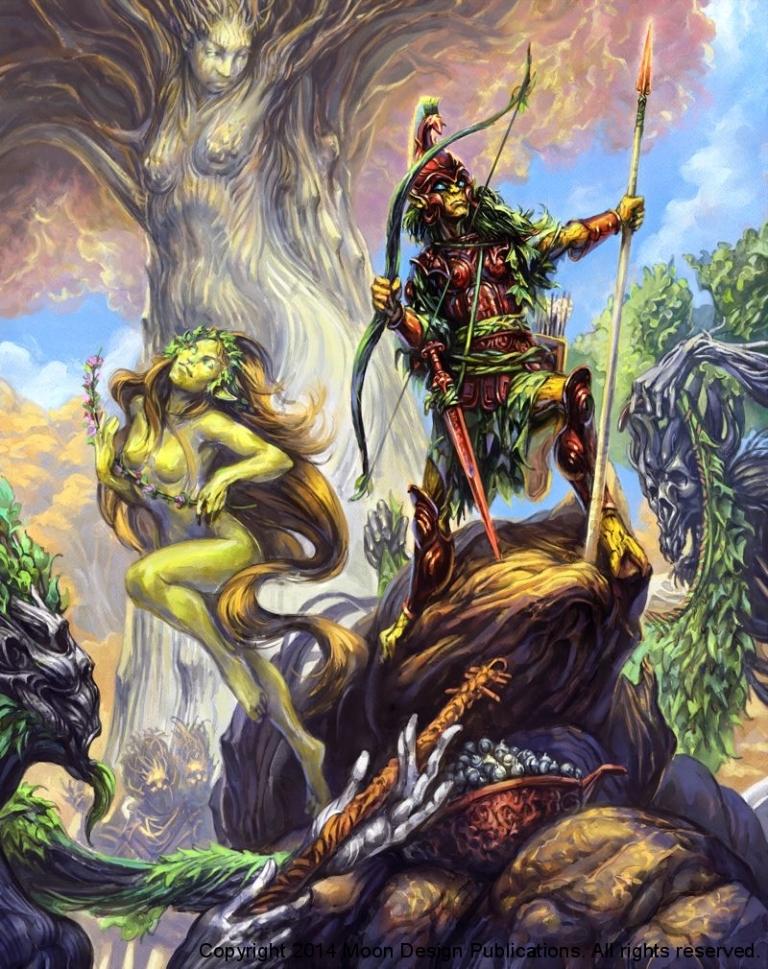 gli elfi di Aldryami